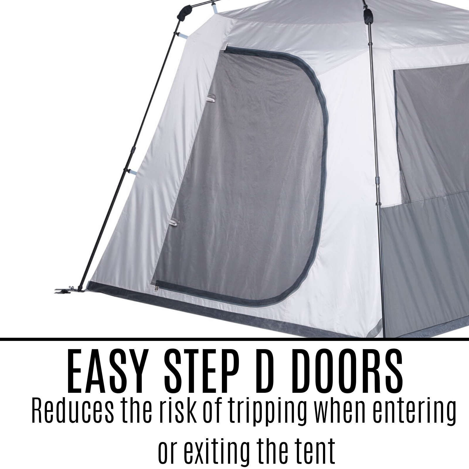 6 Person Pop Up Instant Up Tent Camping Hiking Big Family